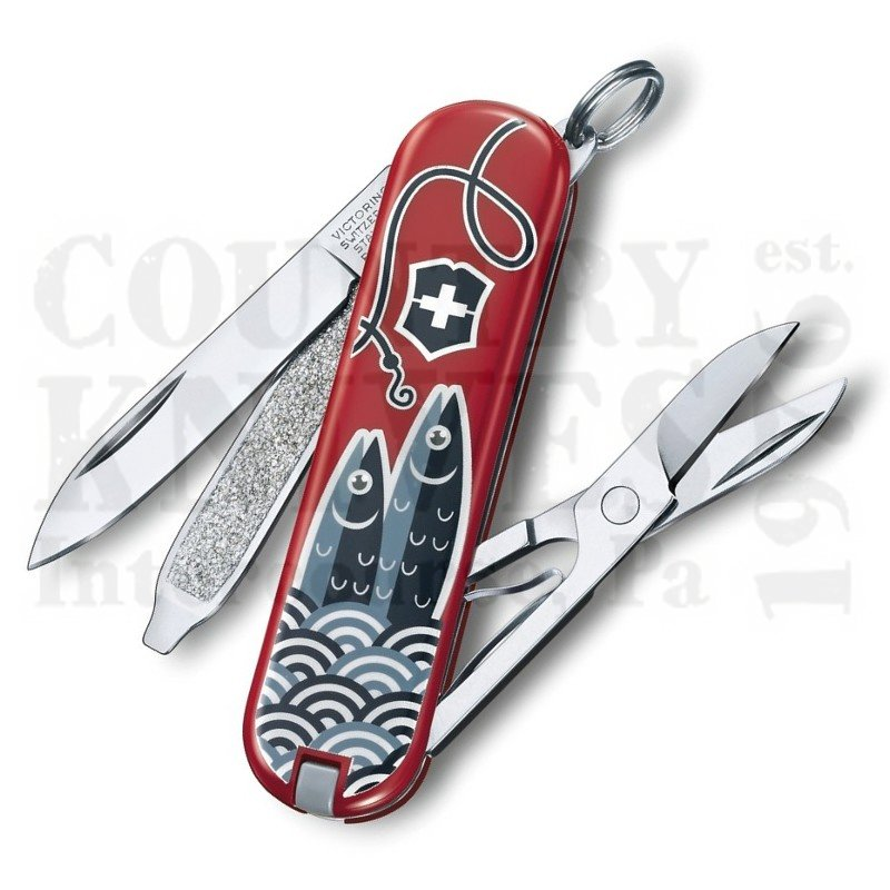 Buy Victorinox Swiss Army 0.6223.L1901US2 Classic SD 2019 - Sardine at Country Knives.