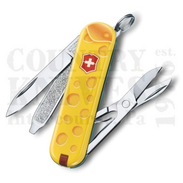 Buy Victorinox Swiss Army 0.6223.L1902US2 Classic SD 2019 - Alps Cheese at Country Knives.