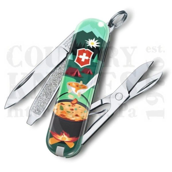 Buy Victorinox Swiss Army 0.6223.L1907US2 Classic SD 2019 - Swiss Mountain Dinner at Country Knives.