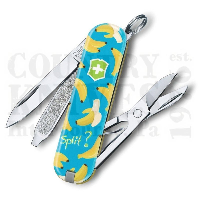 Buy Victorinox Swiss Army 0.6223.L1908US2 Classic SD 2019 - Banana Split at Country Knives.