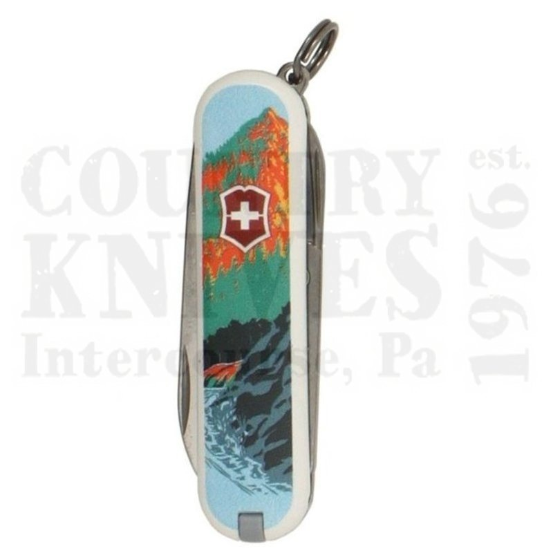 Buy Victorinox Swiss Army 55481 Classic SD - Smokey Mountains National Park at Country Knives.