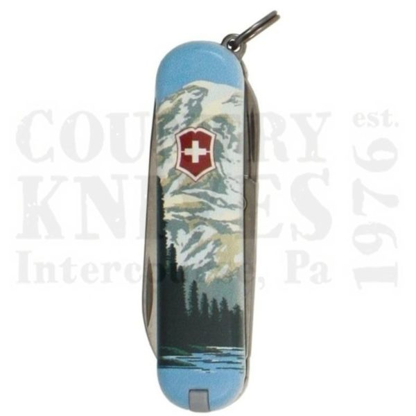 Buy Victorinox Swiss Army 55482 Classic SD - Mount Ranier National Park at Country Knives.