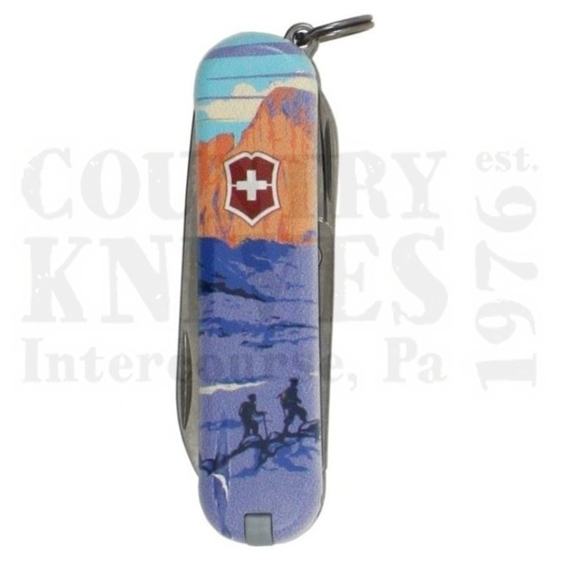 Buy Victorinox Swiss Army 55483 Classic SD - Rocky Mountains National Park at Country Knives.