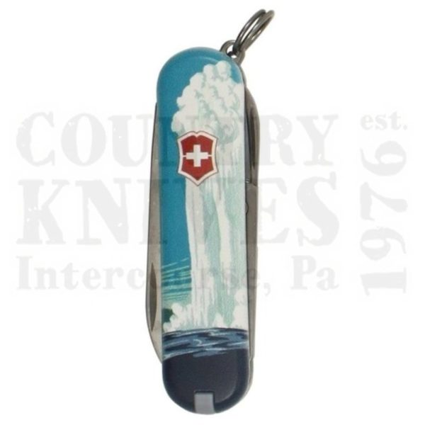 Buy Victorinox Swiss Army 55485 Classic SD - Yellowstone National Park at Country Knives.