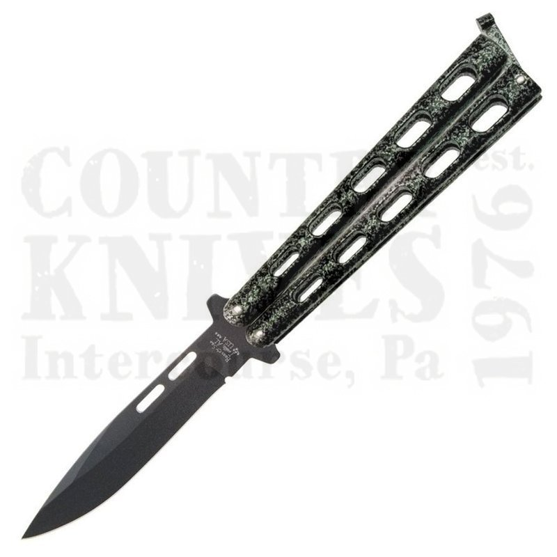 Buy Bear & Son  B115 Large Butterfly - Spearpoint / Silver Vein at Country Knives.