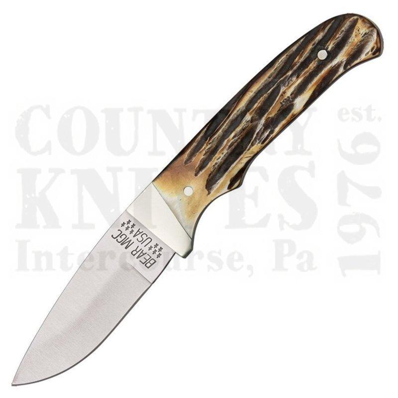 Buy Bear & Son  B548 Drop Point Hunter - India Stag Bone at Country Knives.