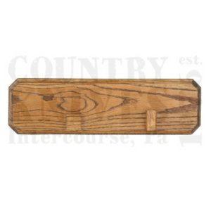 Bear & SonBWPBowie Wall Plaque – Red Oak