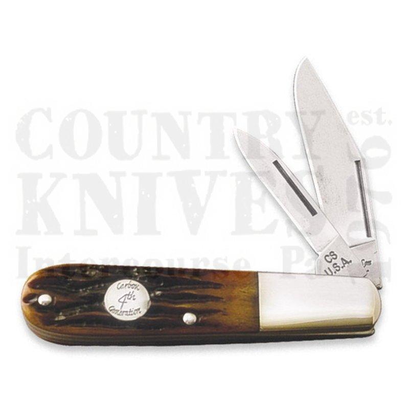 Buy Bear & Son  BCRSB281 Barlow - Red Stag Bone at Country Knives.