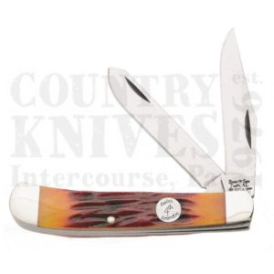 Buy Bear & Son  BCRSB54 Trapper - Red Stag Bone at Country Knives.