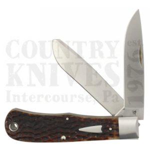 Case#10367 (TB622019 154CM)Bullnose Trapper – Brown Bone