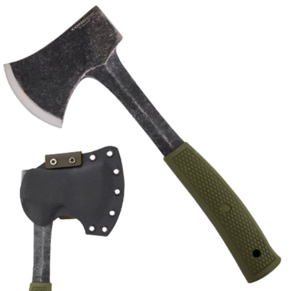 Buy Condor Tool & Knife  CTK3933-4.24HC Campsite Axe - Army Green at Country Knives.
