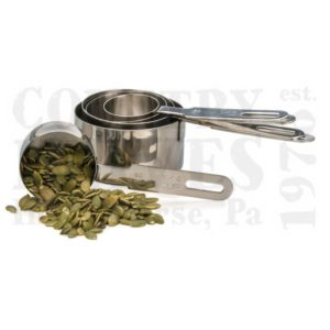 Buy RSVP  DMC-8 Five Piece Measuring Cup Set - 18/8 Stainless at Country Knives.