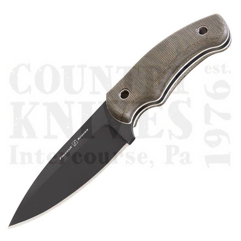 Buy Flexcut  FB3C Nomad - OD Green Canvas Micarta at Country Knives.