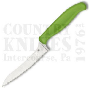 Buy Spyderco Spyderco Culinary K14SGN Pointed Tip Z-Cut - SpyderEdge / Green at Country Knives.