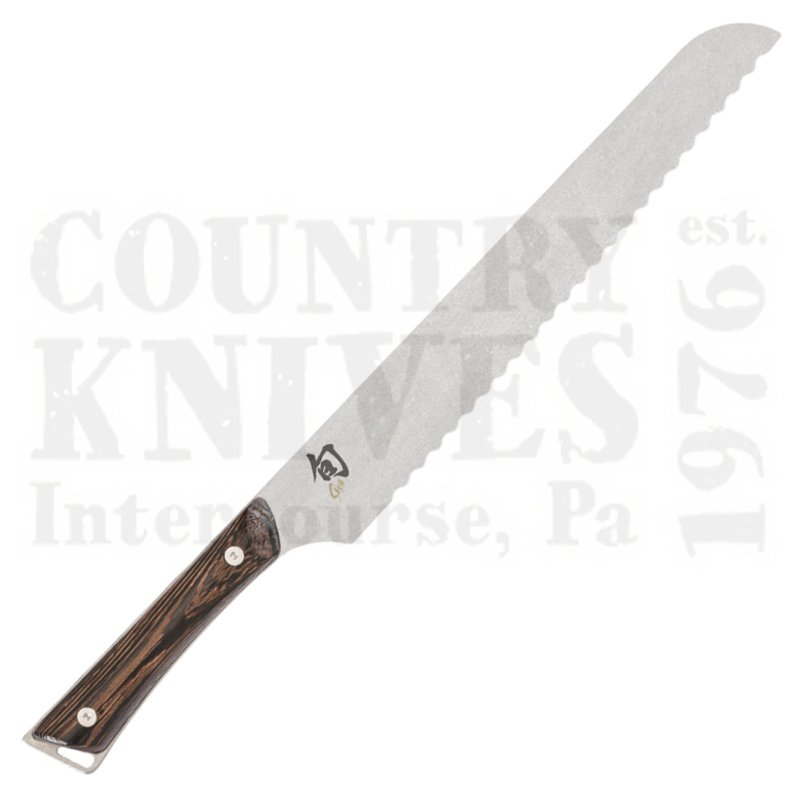 "Buy Kai  KSWT0705 9"" Bread Knife - Shun Kanso at Country Knives."