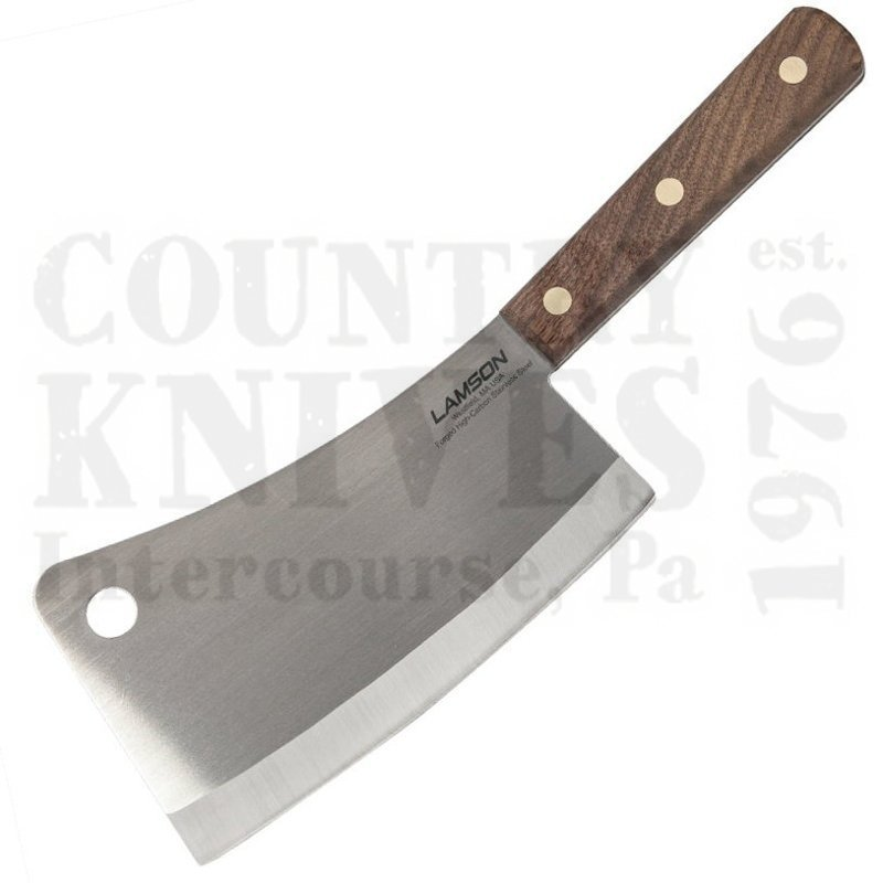 Lamson 33100 7 Meat Cleaver Walnut