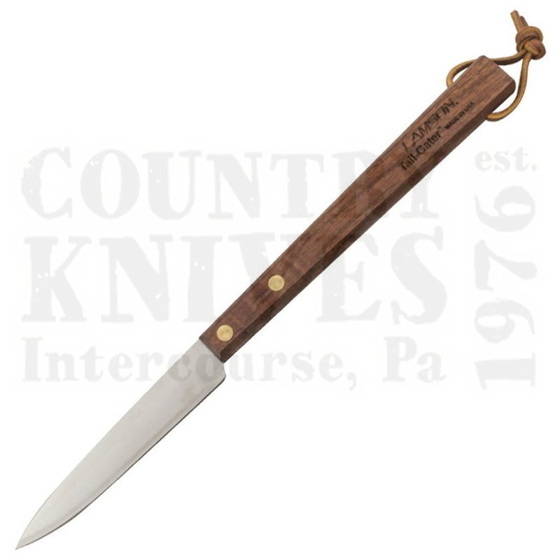 "Buy Lamson  L-33639 15"" Tail-Gater BBQ Knife - Walnut at Country Knives."