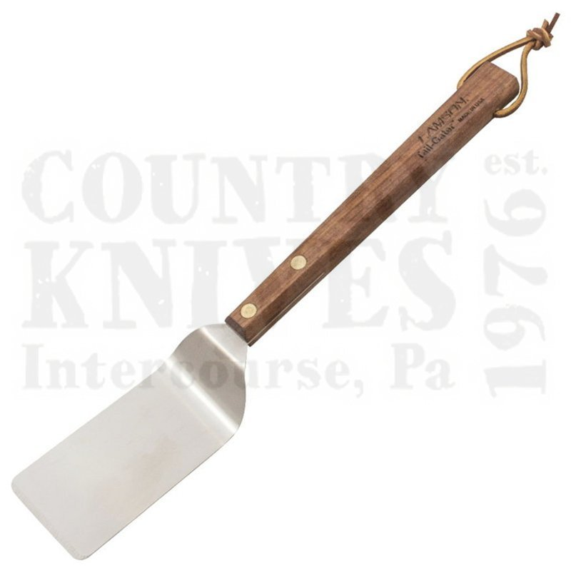 "Buy Lamson  L-33659 15"" Tail-Gater BBQ Turner - Walnut at Country Knives."