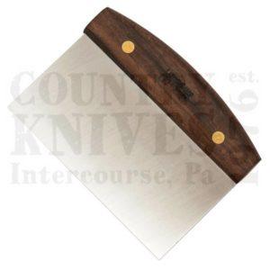 Lamson342226″ x 4″ Dough Cutter / Bench Scraper – Walnut
