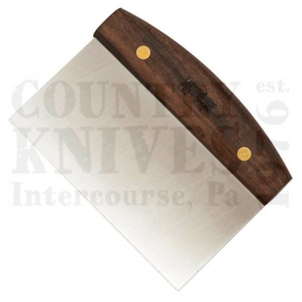 "Buy Lamson  L-34222 6"" x 4"" Dough Cutter / Bench Scraper - Walnut at Country Knives."