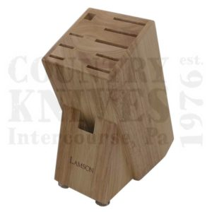 Buy Lamson  L-56882 15 Slot Knife Block - Walnut at Country Knives.