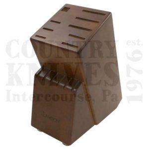 Buy Lamson  L-56882 15 Slot Knife Block - Walnut at Country Knives.