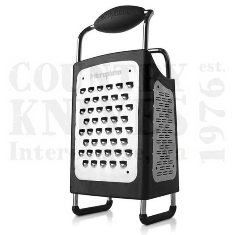 Buy Microplane  MPL34006 4-Sided Box Grater - 19/8 Stainless Steel at Country Knives.