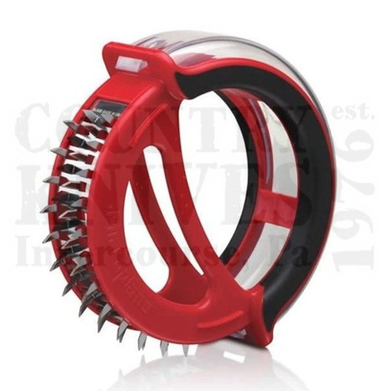 Buy Microplane  MPL48103 Easy Prep Meat Tenderizer - Black / Red at Country Knives.