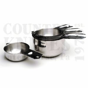 Buy RSVP  NCP-6 Nesting Cup Set - 18/8 Stainless at Country Knives.