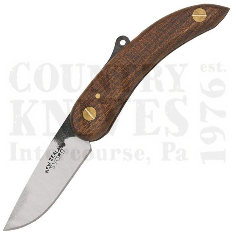 Buy Svörd  PK Peasant Knife - Sapele Mahogany at Country Knives.