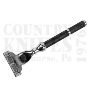Buy Parker  PR42M Mach 3 Razor - Black Oxide Checkered at Country Knives.