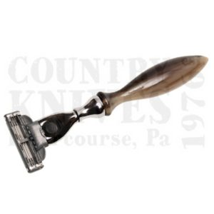 Buy Parker  PR50M Mach 3 Razor - Cattle Horn at Country Knives.
