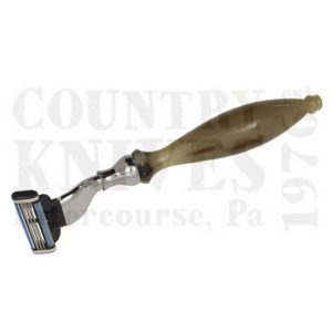 Buy Parker  PR51M Mach 3 Razor - Water Buffalo Horn at Country Knives.