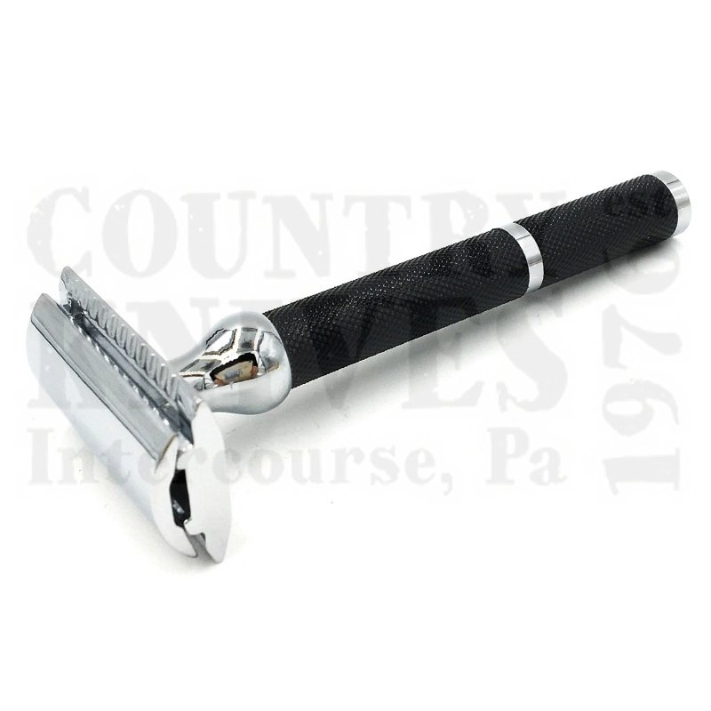 Buy Parker  PR71R Safety Razor - Black Oxide Checkered at Country Knives.