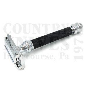 Parker76RTTO Safety Razor – Black & Chrome