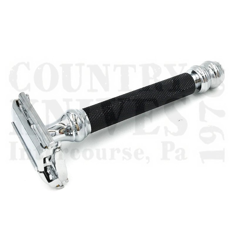 Buy Parker  PR76R TTO Safety Razor - Black & Chrome at Country Knives.