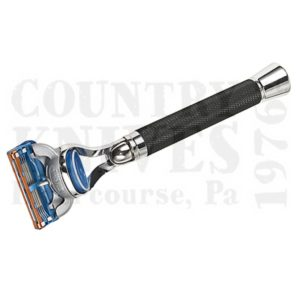 Buy Parker  PRBLKFUS Fusion Razor - Chrome & Black Checkered at Country Knives.