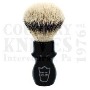 ParkerBMSTMug Shaving Brush – Black / Silver Tip