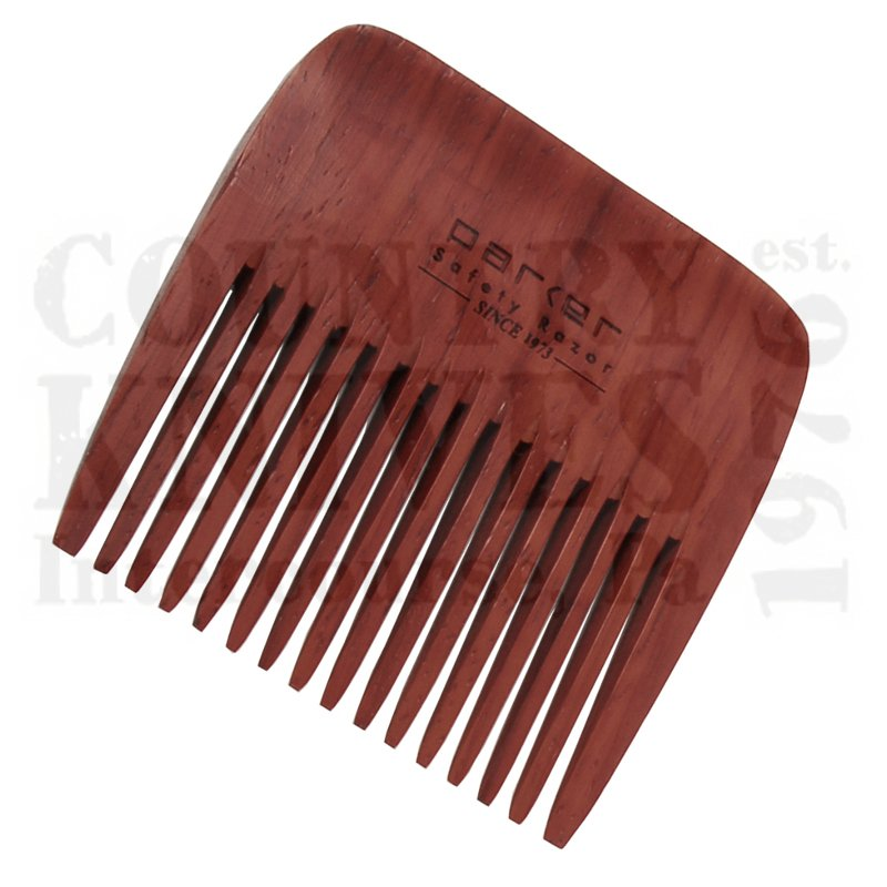 Buy Parker  PRBRDCMB1 Beard Comb - Rosewood at Country Knives.