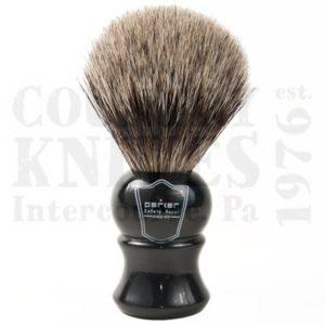 ParkerEHPBShaving Brush – Ebony / Pure Badger