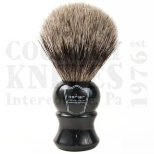 Buy Parker  PREHPB Shaving Brush - Ebony / Pure Badger at Country Knives.