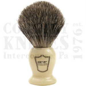 Buy Parker  PRIHPB Shaving Brush - Ivory / Pure Badger at Country Knives.