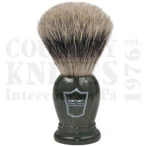 ParkerLGPBShaving Brush – King Size / Forest Green / Pure Badger
