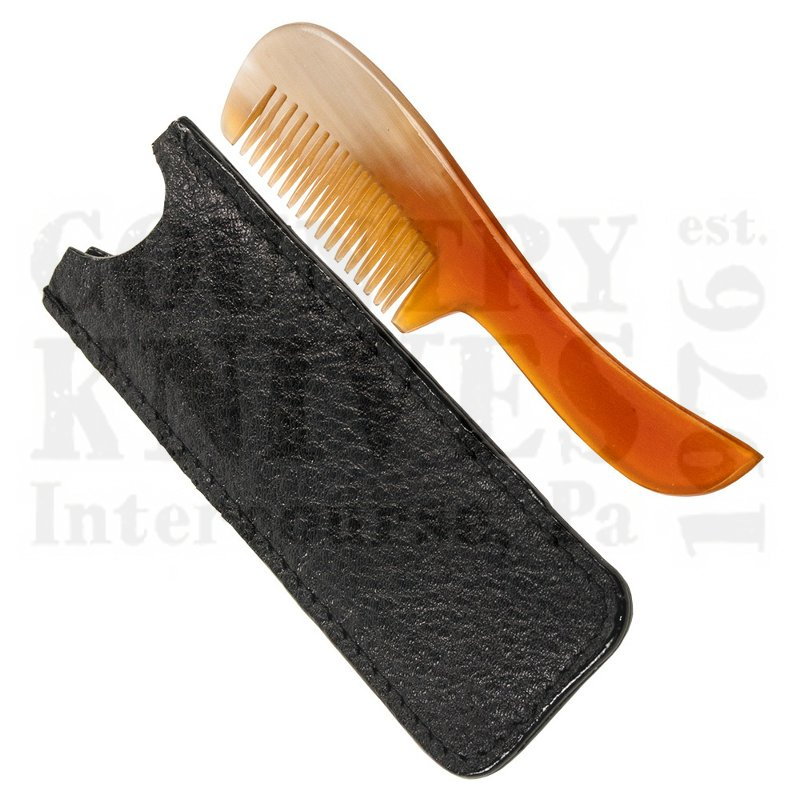 Buy Parker  PRMUSTCMB Moustache Comb - Ox Horn at Country Knives.