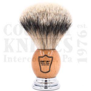 ParkerOWSTShaving Brush – Olivewood / Silver Tip