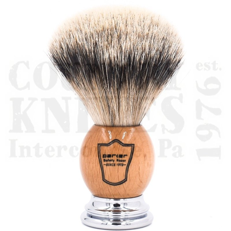 Buy Parker  PROWST Shaving Brush - Olivewood / Silver Tip at Country Knives.