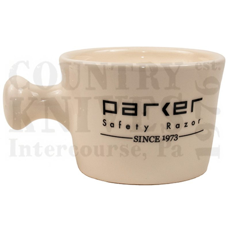 Buy Parker  PRSMI Shaving Mug - Apothecary / Ivory / USA at Country Knives.