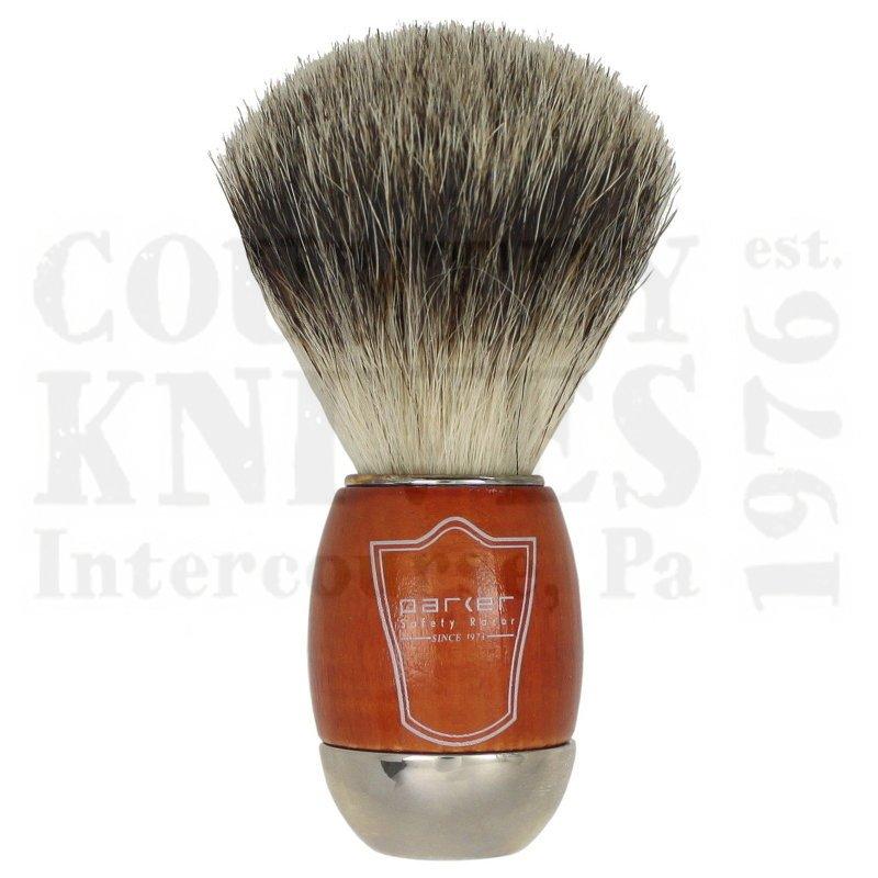 Buy Parker  PRSWBB Shaving Brush - Schima Wood / Best Badger at Country Knives.