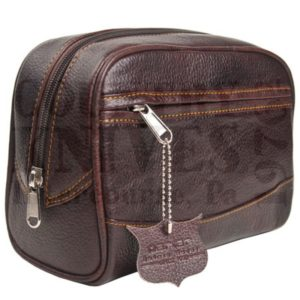 ParkerTBLGToiletry Bag – Large / Leather