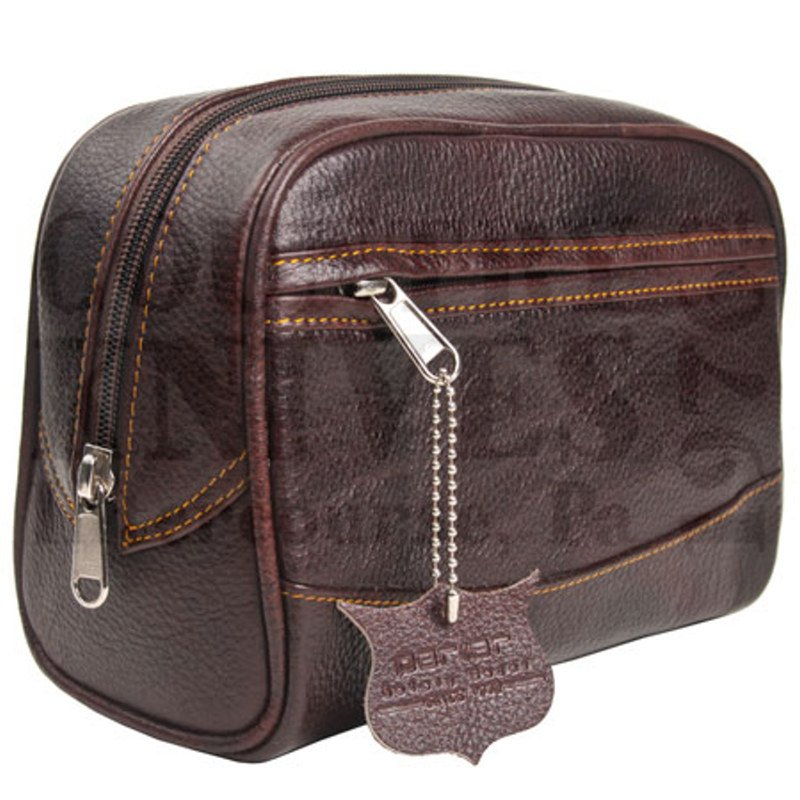 Buy Parker  PRTBLG Toiletry Bag - Large / Leather at Country Knives.